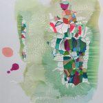 Untitled Framed - 40x50cm Sold
