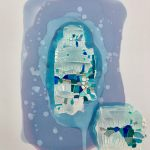 Untitled Framed 60x47cm Sold