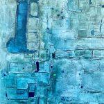 Azul 70x100cm