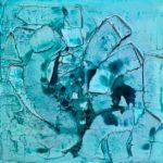Blue Monday 50x50cm